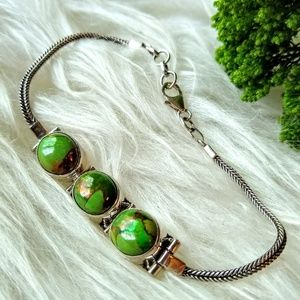 Jewelry - 💚Green Mojave Turquoise Bracelet